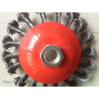 China High quality 4inch Twisted Knot Bevel Brush wholesale