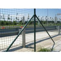 China Garden Green Holland Wire Mesh , PVC Coated Galvanized Wire Fencing Mesh wholesale