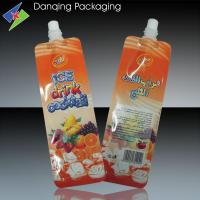 China Customized Stand Up Pouch With Spout, Juice Pouch,Spout Pouch For Jelly Candy on sale