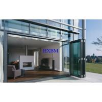 China Energy Efficient Double Glazed Aluminium Folding Doors For Villas wholesale