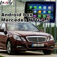 Buy cheap Mercedes - benz E class Automobile GPS Navigation Systems video interface product