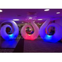 Buy cheap Inflatable Ground Balloon Swan Shaped 4m Decoration Helium Lighting Balloon product