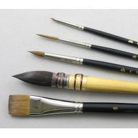 China New artist brush set, best oil painting brush,12pcs per set bristle brush wholesale
