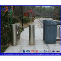 304 Stainless Steel Tripod Turnstile Gate with 60 degree anti-reverse function