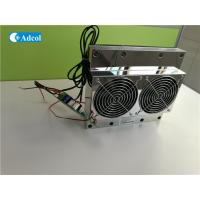 China TEC Peltier Thermoelectric Cooler / Thermoelectric Air Conditioner With Controller For Cabinet wholesale