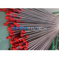 China TP304 , TP316 Stainless Steel Hydraulic Tubing , Mesh Belt Furnace Annealing wholesale