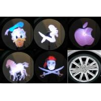 China Auto LED lighting On-wheel with Imaging System  car led Image light Very cool wholesale