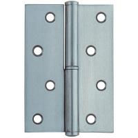China 270° Take Down Square Door Hinges Stainless Steel With Round Corner wholesale