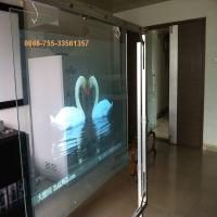 China Holographic Foil/Transparent Rear Projection Film/Transparent Screen 1.52x30 Meter on sale