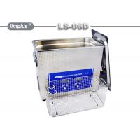 China LS - 06D 6.5 Liter Digital Pipe Tube Ultrasonic Cleaner Machine / Ultrasonic Cleaning Bath Lab Use wholesale