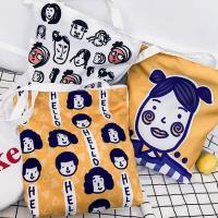 China Korean version of cartoon character printing ladies small square shoulder bag messenger bag on sale