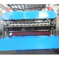 China 18 Forming Stations Roof Panel Roll Forming Machine PLC For IBR / Corrugated Sheets wholesale