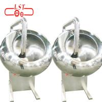 China SSS304 Material Chocolate Panning Machine With Speed - Adjustable Motor wholesale