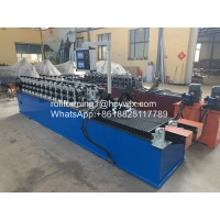 China Double Out PPGI 0.55mm Cold Roll Forming Machine wholesale