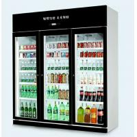 China Cold Drinks Bottle Pepsi Beverage Display Cooler With Glass Door Green & Health wholesale