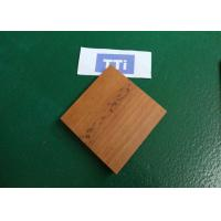 Quality Custom Wood Texture Precision Plastic Injection Molding Parts / Plastic Mold Parts for sale
