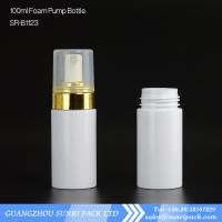 China 50ml soap foam pump white bottle for cleanser wholesale