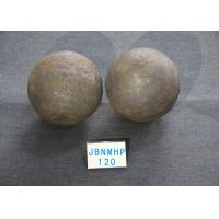 Quality 60-61 HRC D120mm Chemical Industry Grinding Media Balls for Mining Processing with B3 Material for sale