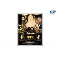Buy cheap 22mm Thickness Silver Aluminum Frame LED Light Source Snap Poster Board from wholesalers