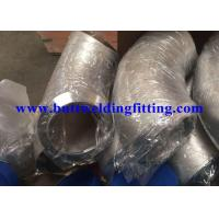 China Cold Forming Stainless Steel Elbows ASTM A182 F55 / UNS S32760 Pipe Fittings Elbow on sale