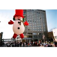 China Helium Inflatable Cartoon Characters Heat Sealing Giant Inflatable Snowman wholesale