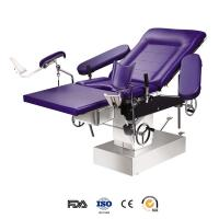 China Portable stainless steel gyn exam table hospital for female patient wholesale