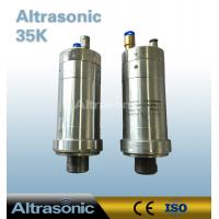 China Herrmann 35Khz Ultrasonic Transducer Welding Replacement With Integrated Rotator Coupler HF Interface wholesale