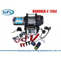 China 12V 24V Electric Winch 2000lbs - 20000lbs Rated Line Pull Patent Clutch Structure Winch wholesale