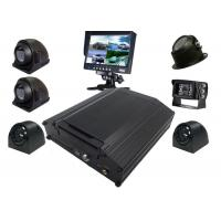 Buy cheap Black Box Kit 8 Channel Mobile DVR 4G AHD 720P Security Surveillance System from wholesalers