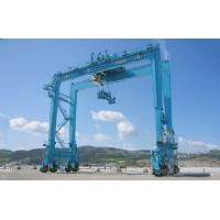 China Customized Rubber Tyre Container Gantry Crane RTG Crane For Ports And Yards wholesale