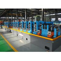 China Blue ERW API Pipe Mill / High Frequency API Tube Welding Machine wholesale