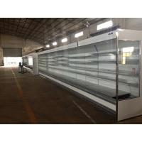 China Multideck Open Chiller / Refrigerator Showcase for supermarket or commercial wholesale