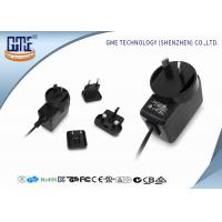 China Interchangeable Type Desktop 12v Power Adapter UL FCC GS CE RCM Approved wholesale