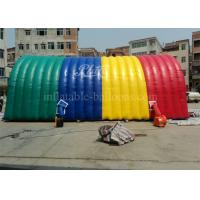 China Colorful Inflatable Marquee Tent Arch Building Air Supported Structures wholesale