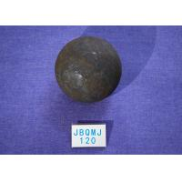 Quality High Impact toughness Chemical Industry B3 D120mm Steel Balls For Ball Mill , Grinding Media Carbon Steel Ball for sale