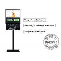China 21.5 Inch Advertisement Mobile Phone Charging Kiosk Self Service Charging Station wholesale