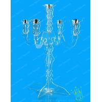 China CH (28) thick Acrylic candle holder wholesale