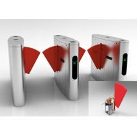 China Metro Anti - pinch Flap Barrier Gate Matching Of Various Identification Systems wholesale