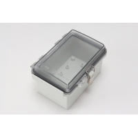 China Waterproof Hinged Plastic Enclosures ABS Plastic IP67 Project Box wholesale