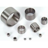 China Steel Roller Bearings Steel Backed With GCr15 , Crossed Oil groove Round And Elliptical Oil Socket wholesale