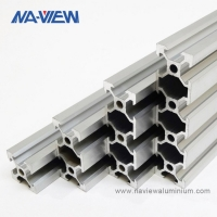 Buy cheap 2080 8020 T Slot Aluminum Extrusions Extruded Aluminium Profiles For Industries from wholesalers