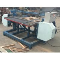 bandsaw dismantler for wood pallet/horizontal wood pallet stripping sawmill machine