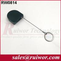 China 2.8x2.8x0.8Cm Box Ipad Retractable Security CableWith Demountable Key Ring wholesale