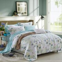 China Blue / Grey Home Bedding Comforter Sets Full / King / Queen / Twin Size wholesale