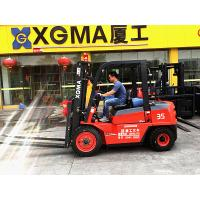 China Counterbalance 4WD 3.5 Ton Diesel Forklift Truck Material Handling Equipment wholesale