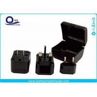 China Multi Color All In One USB Travel Adapter Converter Kit With Suit Storage Box wholesale