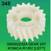 China 355002232A / 3550 02232A GEAR TEETH-20 FOR KONICA R1,R2 (LEFT) minilab wholesale