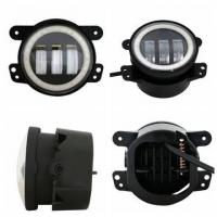 China 4 Inch 30W Led Fog Lights For Trucks Harley Motorcycles Stainless Steel Bracket wholesale