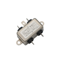 China Low Pass Electrical Equipment AC 250V Socket EMI Filter 10A wholesale