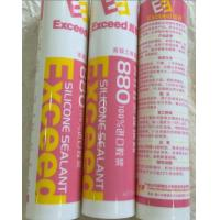 China Glass Assembly Acetoxy Silicone Sealant Transparent One Component wholesale